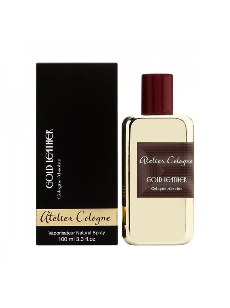 Atelier Cologne Gold Leather Cologne Absolue e..