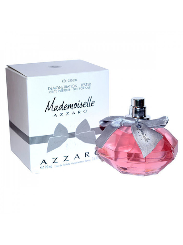 Tester Azzaro Mademoiselle 90 ml..