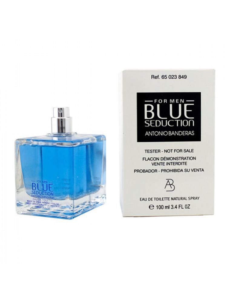 Tester Antonio Banderas Blue Seduction For Men..
