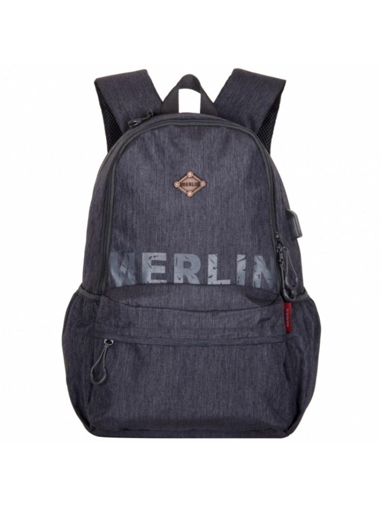 Школьный Рюкзак Across Merlin серый A7288-2..