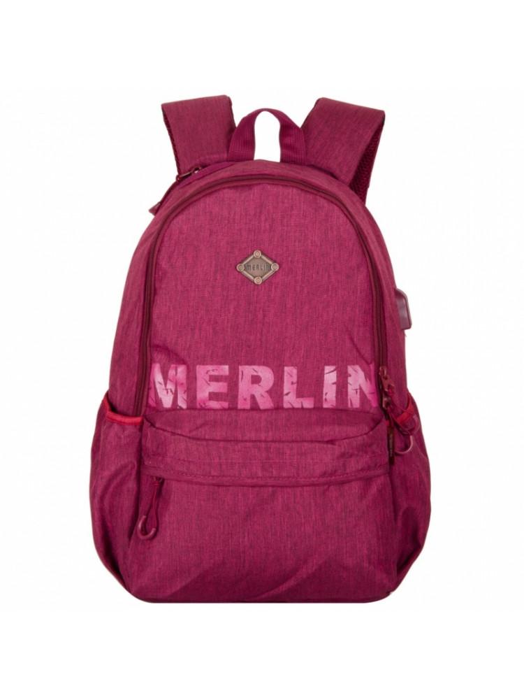 Школьный Рюкзак Across Merlin светло-фиолетовы..