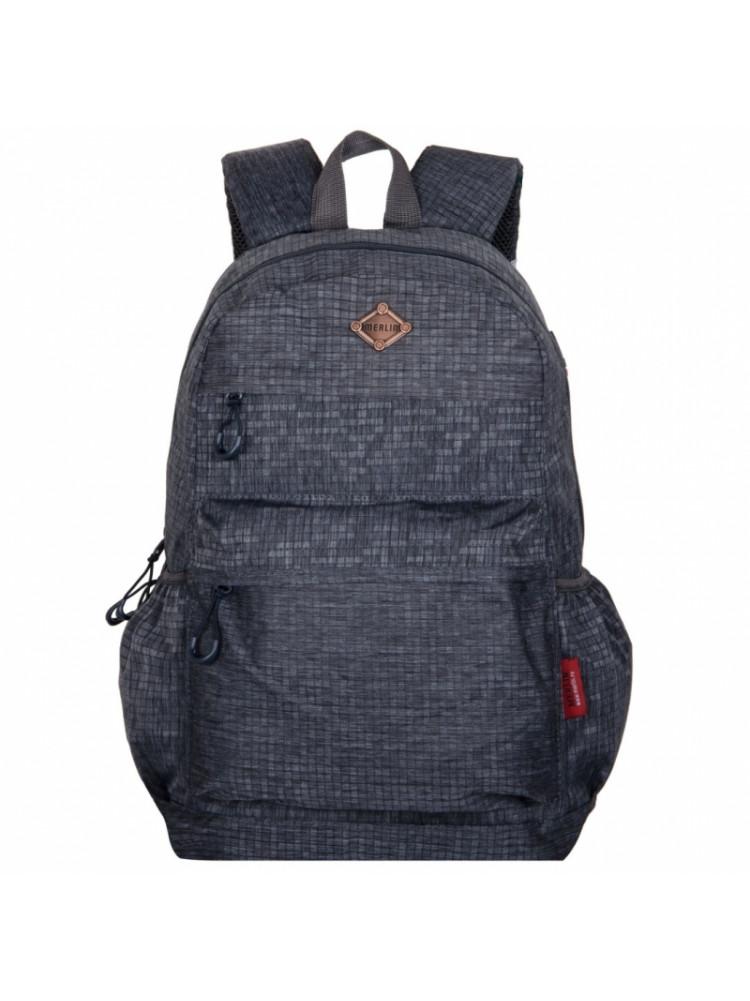 Школьный Рюкзак Across Merlin серый A151-7..